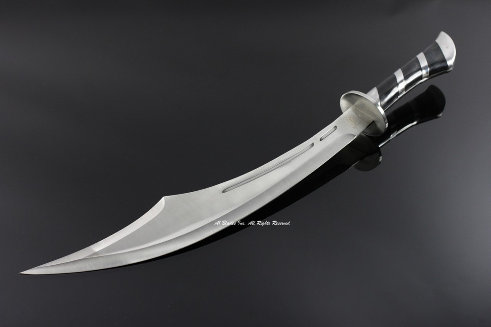 "25"" Schimiter Sword with Sheath"