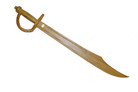 "30"" Wooden Caribbean Pirates Cutlass Sword"