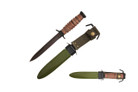 """11.75"""" World War II WWII M3 bayonet Leather handle with Scabbard"""