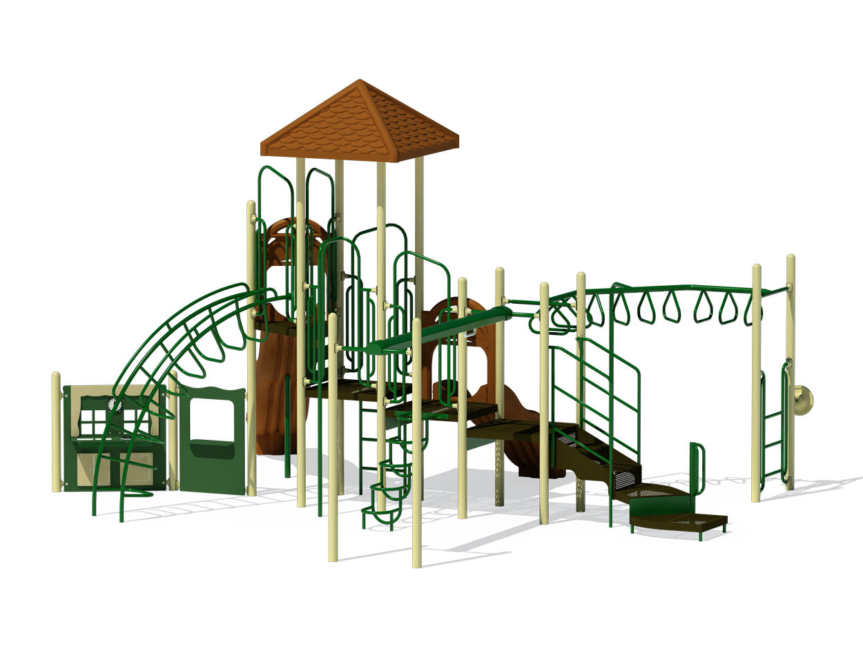 Climb Glide Slide - PC-0003 - Playground Company