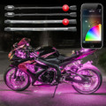XKchrome App Control Motorcycle LED Accent Light Kit