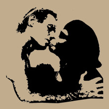 Planet of the apes - Charlton Heston Ape Kiss T Shirt