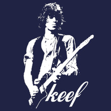 KEEF Keith Richards rock god T Shirt BlackSheepShirts
