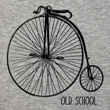 OLD SCHOOL Penny farthing t Shirt