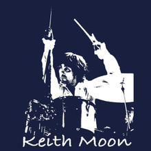 Keith Moon T Shirt - The Who - BlackSheepShirts