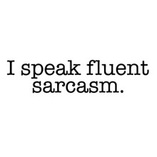 I speak fluent Sarcasm t shirt BlackSheepShirts