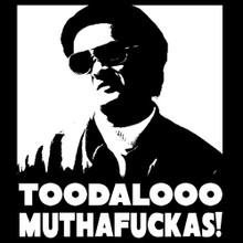 Toodaloo MuthaFuckas! Mr.Chow The Hangover inspired t shirt