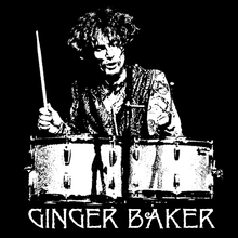 Ginger Baker T shirt BlackSheepShirts