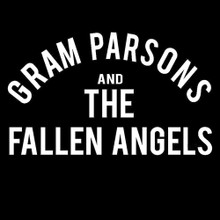 Gram Parsons and the fallen angels t shirt