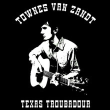 "Townes Van Zandt T shirt country music ""Waitin' Around To Die"""