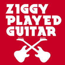 David Bowie Ziggy Played Guitar T shirt Ziggy Stardust and the spiders from mars
