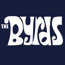 The Byrds logo t shirt