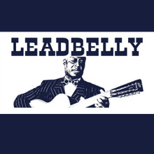 Leadbelly T Shirt Blues music legend