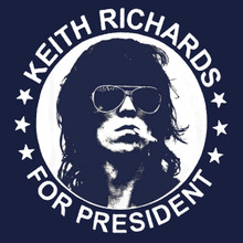 Keith Richards for President T Shirt