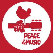 Woodstock festival Peace and Music t shirt