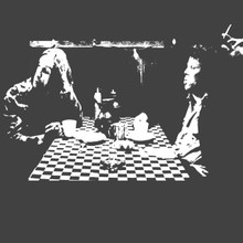 Coffee and Cigarettes T Shirt Iggy pop Tom Waits Jim Jarmusch Down By Law
