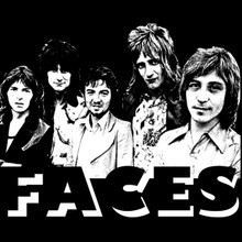 Faces T Shirt Rod Stewart Ronnie Wood
