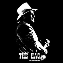 THE HAG T Shirt Country music RIP Merle Haggard