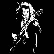 Angus Young T Shirt BlackSheepShirts