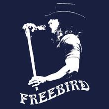 Ronnie Van Zant T Shirt FREEBIRD Lynyrd Skynyrd