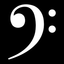 BASS CLEF T Shirt music symbol
