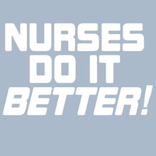 Nurses Do It Better T Shirt as worn by Robert Plant