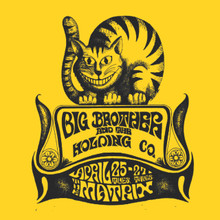 Big Brother and the Holding Company T Shirt Janis Joplin