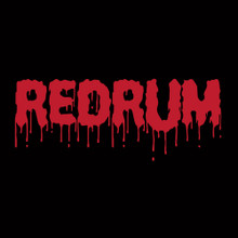 REDRUM T-Shirt The Shining Jack Nicholson