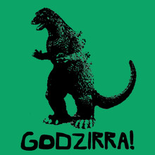 Godzirra! T-Shirt Funny Japanese cult movie tee