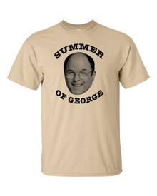 Summer of George T-Shirt Funny George Costanza tee