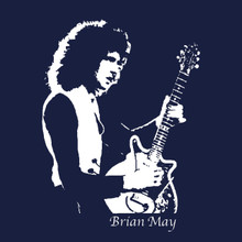 Brian May T-Shirt Queen band lead guitarist