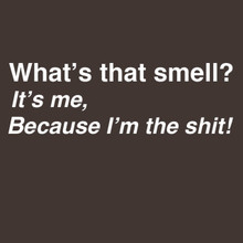 Whats that smell? It's Me, Because I'm the shit! funny T-Shirt