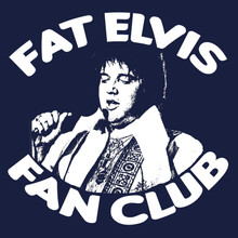 Fat Elvis fan club T-Shirt