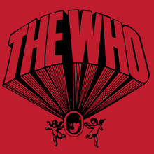 The Who T-Shirt Keith Moon drum kit