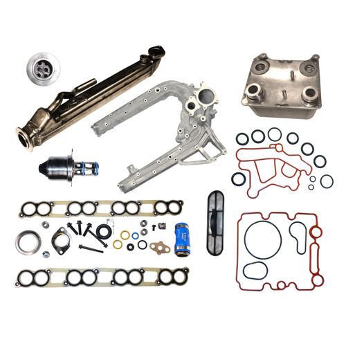 2004-2010 Ford 6.0L EGR and Oil Cooler Package #3