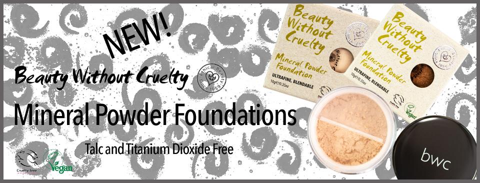 Mineral Powder Foundations
