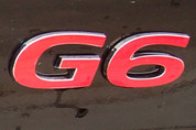 2005-2009 G6 Emblem Overlay Decal