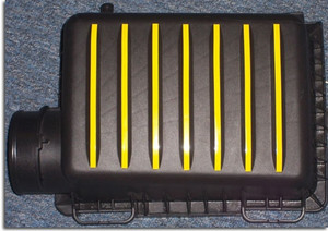 Airbox Stripe Decals - 05-08 Dodge Magnum