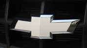 Front Bowtie Overlay Decal - 2010 2011 2012 2013 Camaro Gloss White