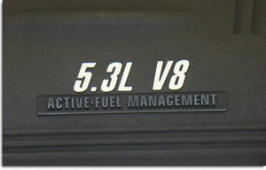 Engine Cover Overlay Decals - 06-09 Impala SS