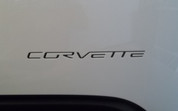 Rear Lettering Inlay Decal - C6 Corvette 05-13