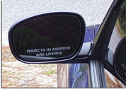 Side View Mirror Decals - Chrysler 300C