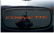 Front Lettering Inlay Decal Kit - C5 Corvette 97-04