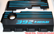 392 HEMI Engine Cover Decals
