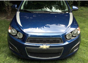 Sonic Hood Spear Graphic Decal Stripes