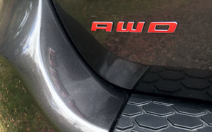 Durango Red AWD Decal
