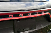 DODGE Liftgate Emblem Overlay Decal