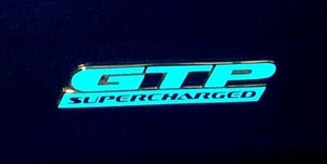 GTP Badge Overlay Decals - 97-03 Grand Prix GTP