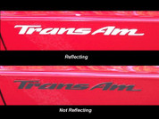 93-02 Pontiac TRANS AM Badge Overlays