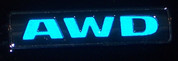 AWD Emblem Inlay Decal - 05-08 Dodge Magnum